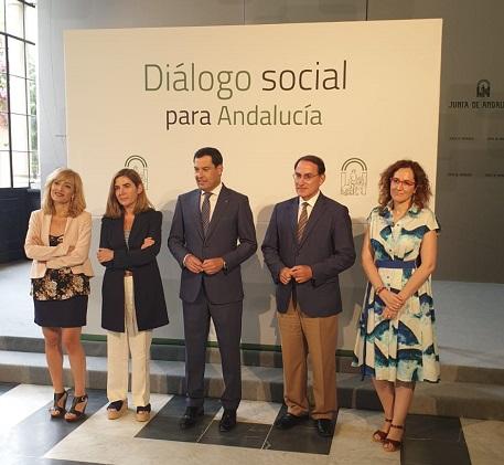 Los sindicatos instan a la Junta de Andalucía a establecer medidas concretas para afrontar el paro, la desigualdad y mejorar la calidad de vida de las personas