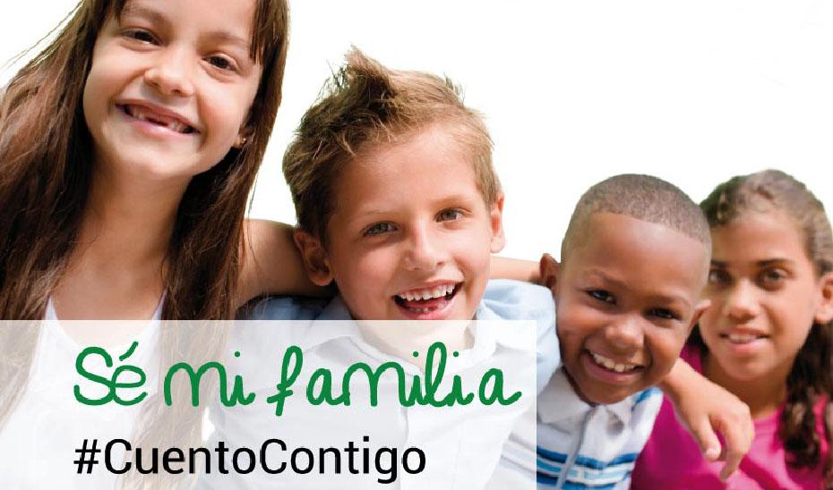 'Sé mi familia. #CuentoContigo' la campaña de acogimiento familiar de Andalucía