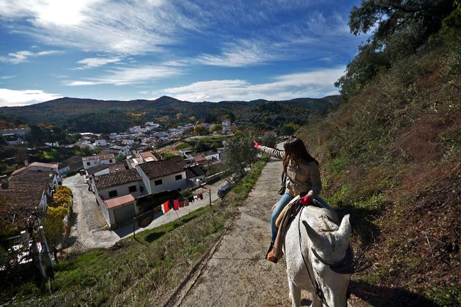Este fin de semana… a caballo por la Sierra de Aracena, en Huelva
