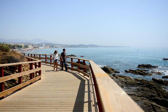 Esta semana te proponemos… 180 kilómetros de Mediterráneo por la Senda Litoral de Málaga