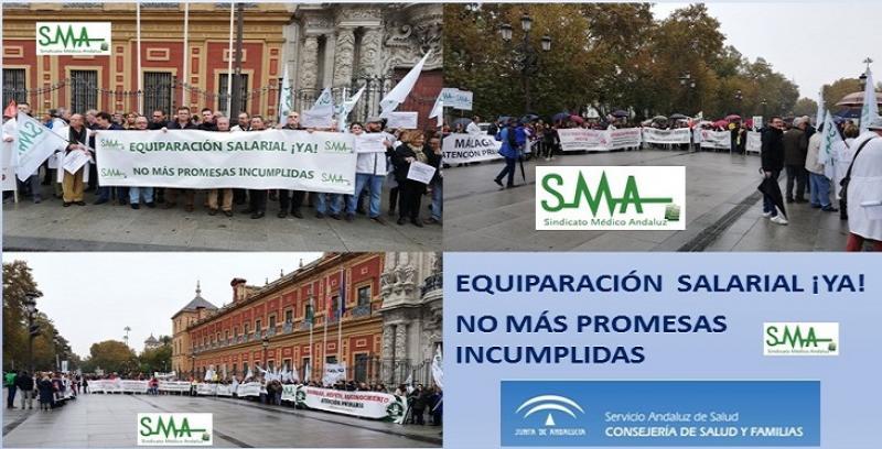 Los médicos de Andalucía amenazan con movilizaciones si no hay mejoras en la sanidad