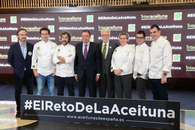 50 cocineros de prestigio en #ElRetoDeLaAceituna