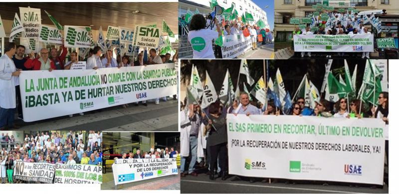 La Junta acaba con la paciencia de los médicos en Andalucía que se concentrarán este domingo