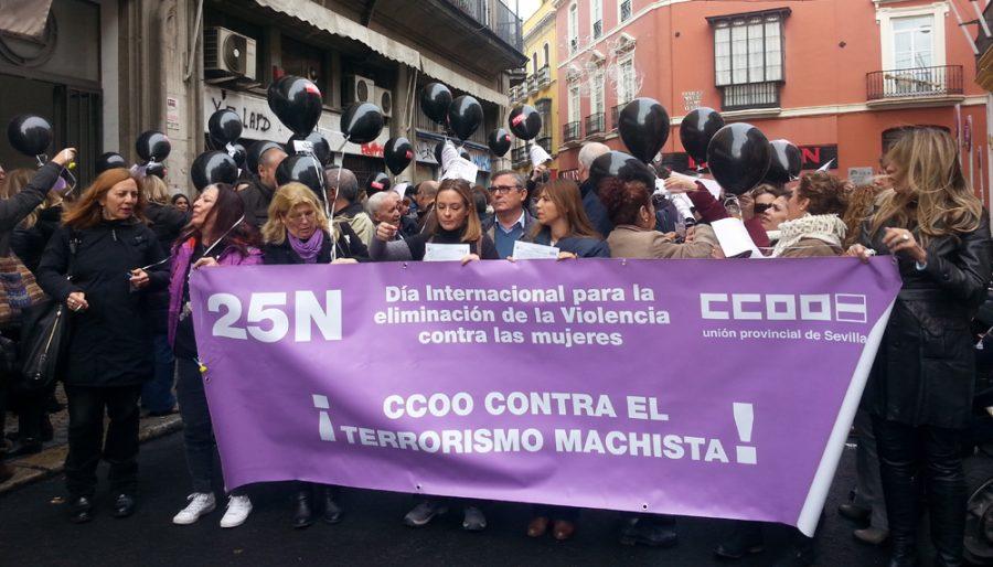Organizaciones de mujeres y sindicatos preparan una «gran protesta» contra la Junta de Andalucía con ´El Tren de la Dignidad´