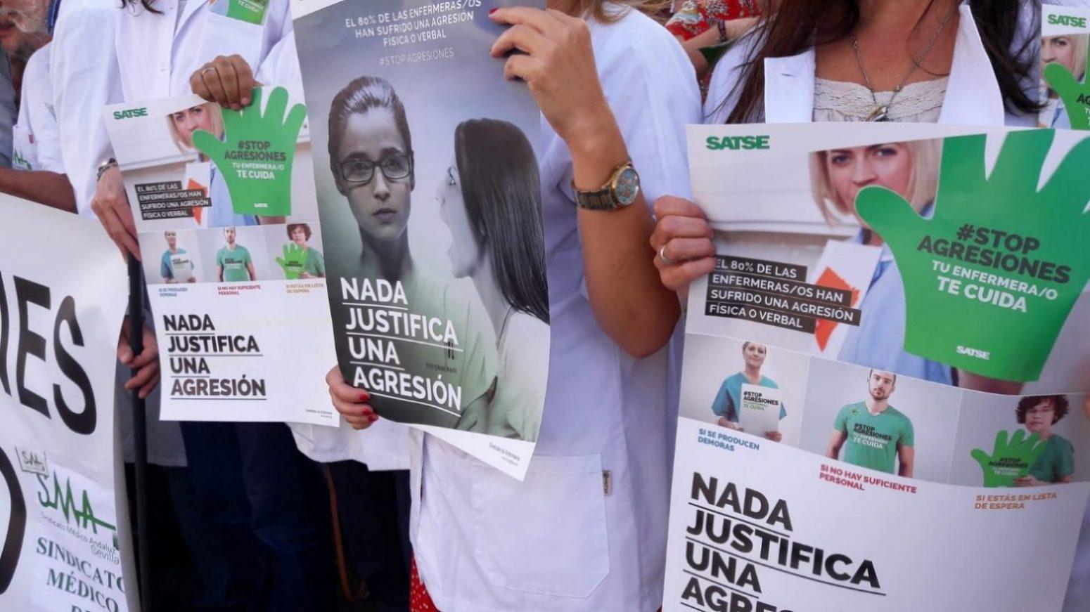 Se incrementan en Andalucía las agresiones a profesionales de la sanidad