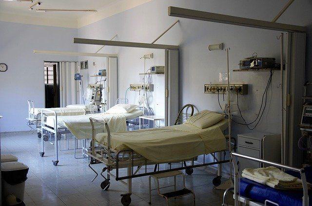 Camas de Hospital. Coronavirus Andalucía.