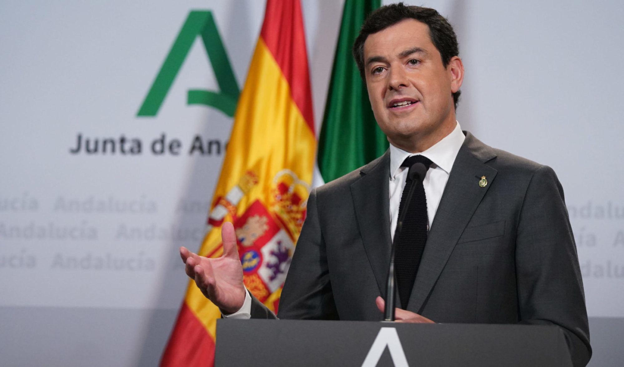 Moreno asegura que Andalucía está preparada para afrontar el desconfinamiento