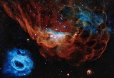 El espectacular 'arrecife cósmico' captado por telescopio Hubble