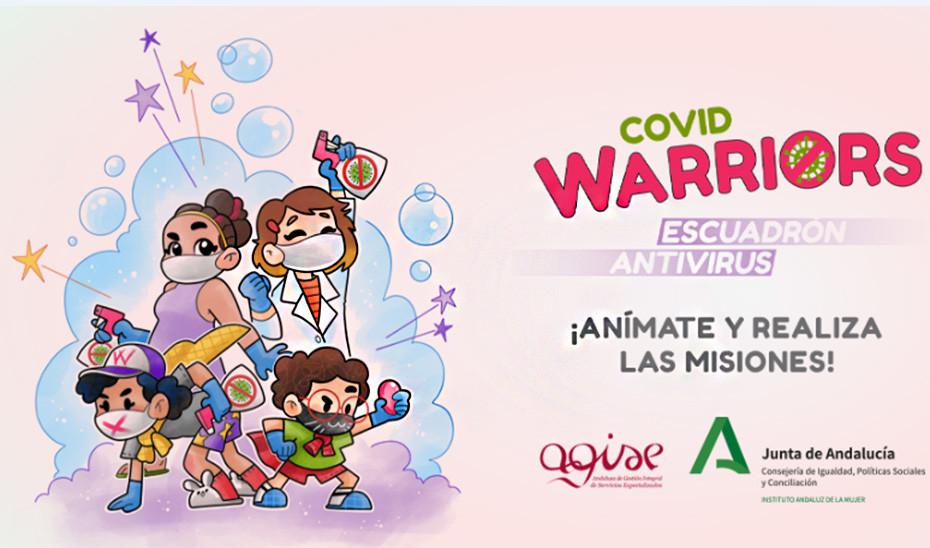 Covid Warriors para los más pequeños de los centros de acogida de Andalucía