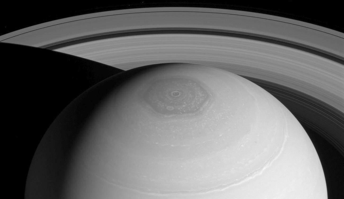 ¿Sabías que en el polo norte de Saturno hay un hexágono? Pues han descubierto una posible explicación