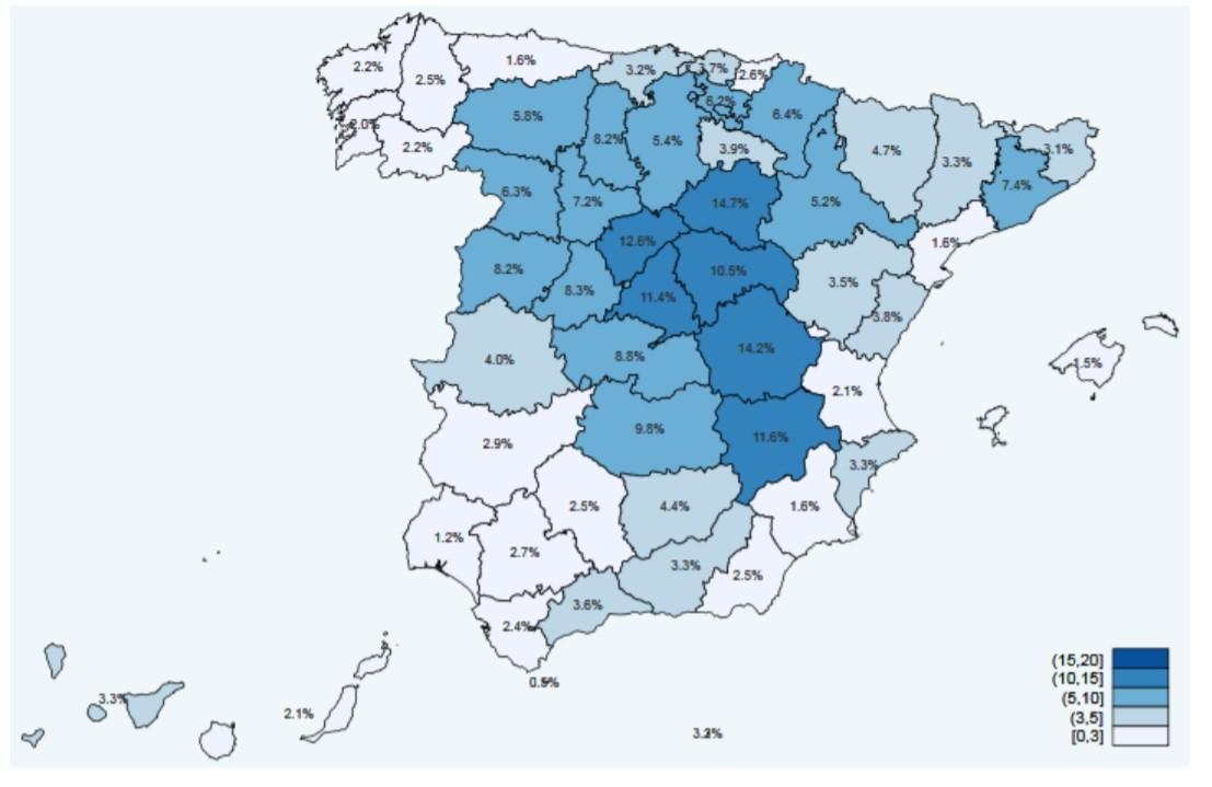 La inmunidad en España llega al 5,21% mientras que en Andalucía es del 2,9% en la segunda ronda del estudio ENE-Covid19