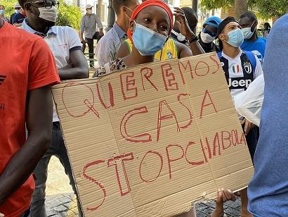 UGT denuncia «las terribles condiciones de las personas que malviven» en los asentamientos de Andalucía