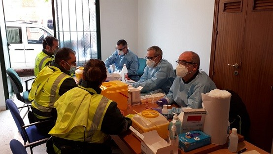 Test coronavirus Andalucía