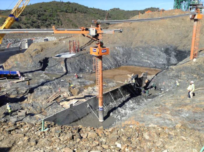 Los ecologistas exigen la paralización y abandono de la construcción de la presa de Alcolea en Andalucía
