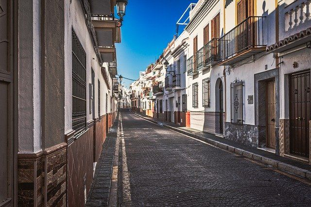 Calle en Andalucía