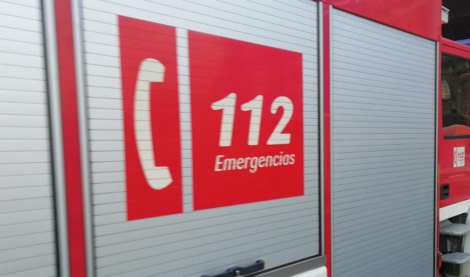 Una persona trasladada al hospital tras registrarse un incendio en un piso de Málaga