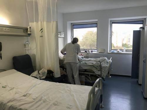 Hospital Regional Málaga paciente