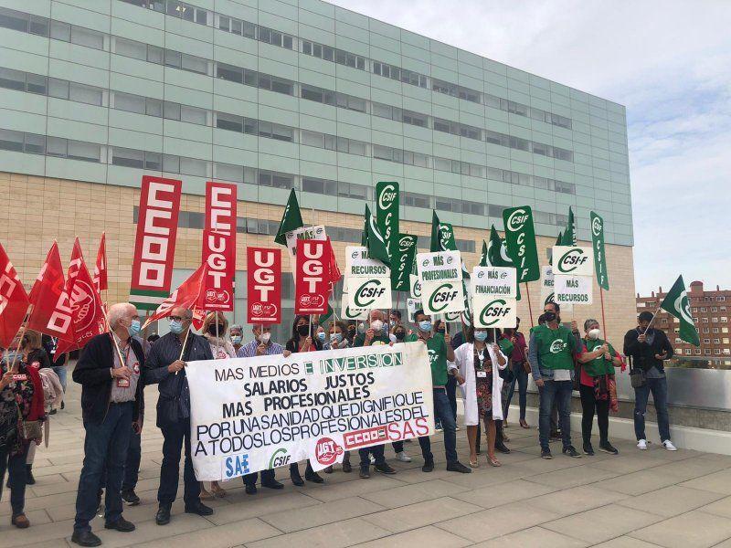 """Mensaje contundente de los sindicatos a la Junta de Andalucía: """"No se trata de salvar la Navidad… se trata de salvar la sanidad para seguir salvando vidas"""""""