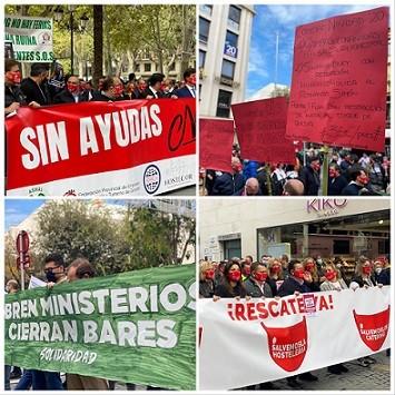 Protesta de la Hostelería. Rodrigo G