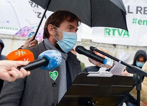 """Los trabajadores de la RTVA exigen al Gobierno andaluz que """"deje de arremeter contra un servicio público esencial para Andalucía"""""""