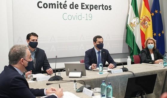 Comité de expertos Andalucía coronavirus
