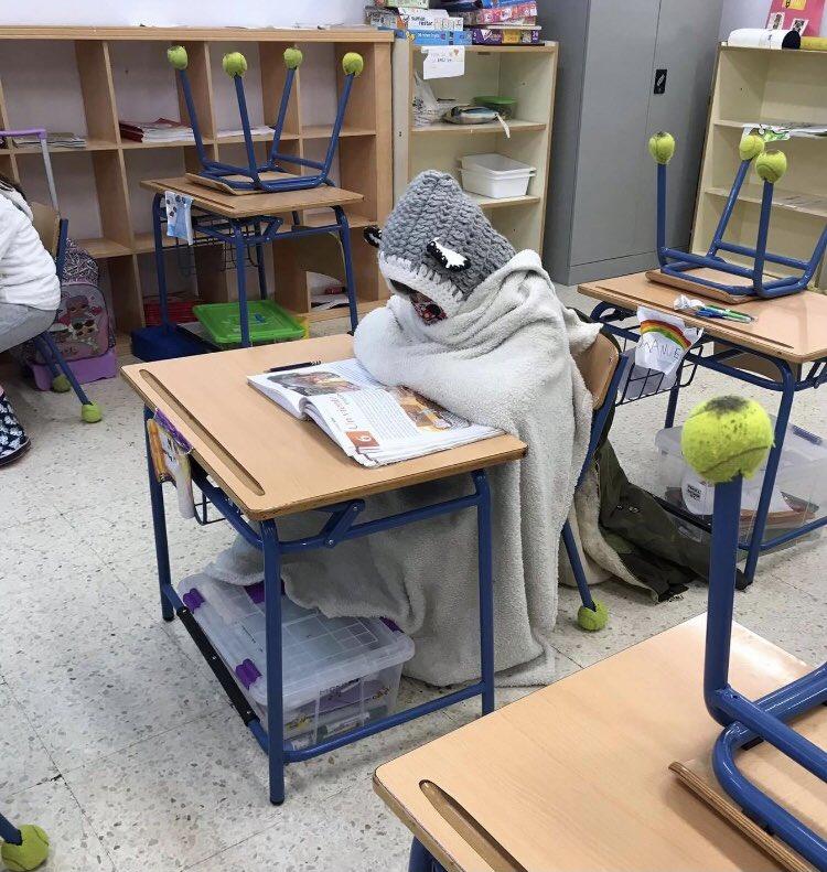USTEA llevará a Inspección de trabajo «el incumplimiento de la legislación sobre temperaturas en las aulas andaluzas»