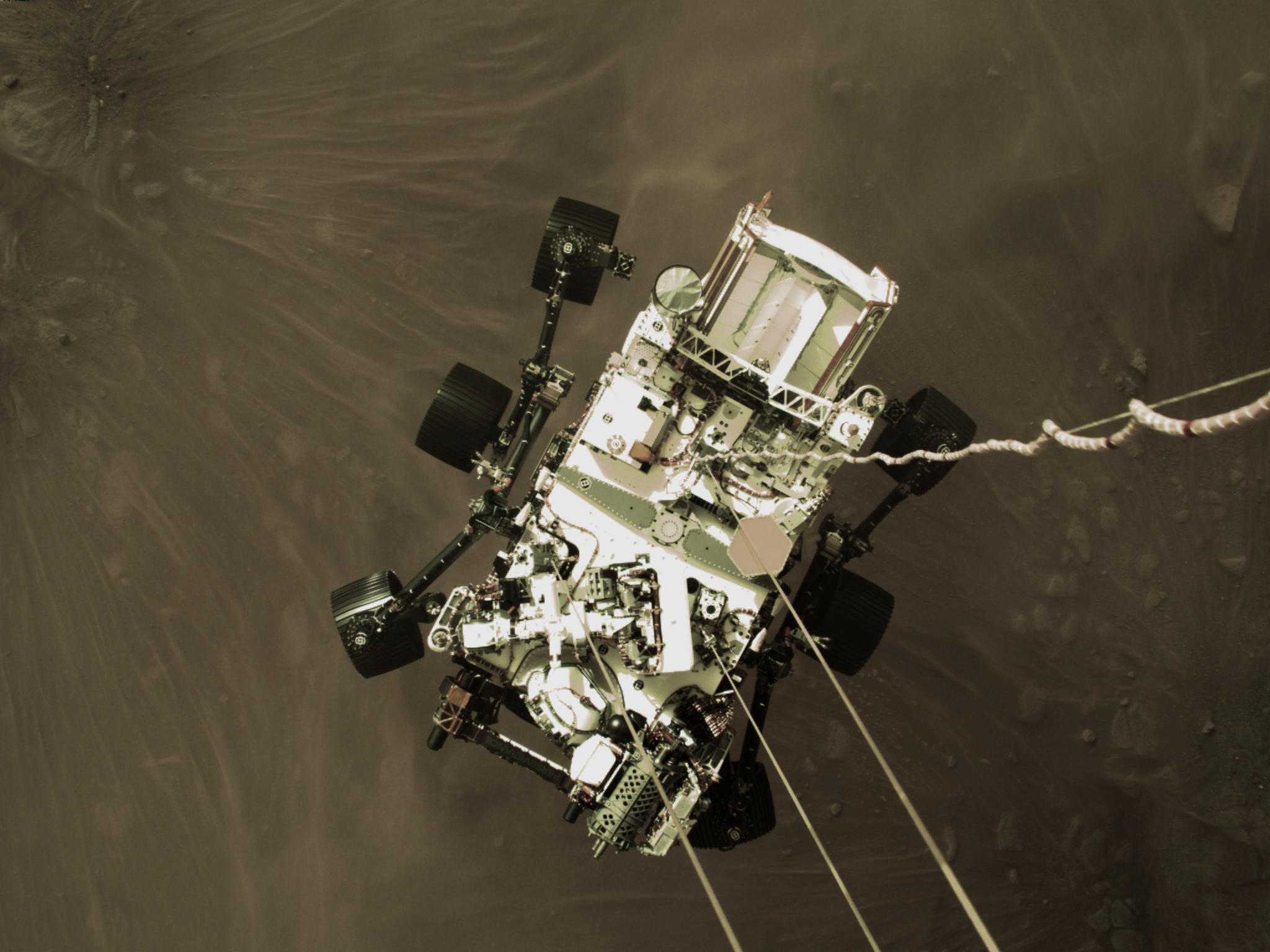 Primeras imágenes «a todo color de Marte» desde la Perseverance