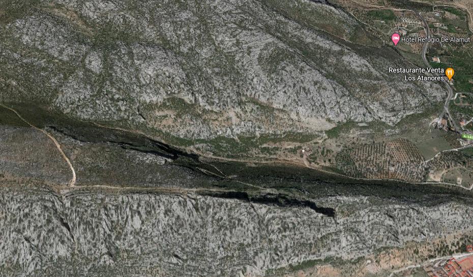 Rescatado y evacuado al hospital un hombre tras sufrir una caída en la montaña el Valle de Abdalajís