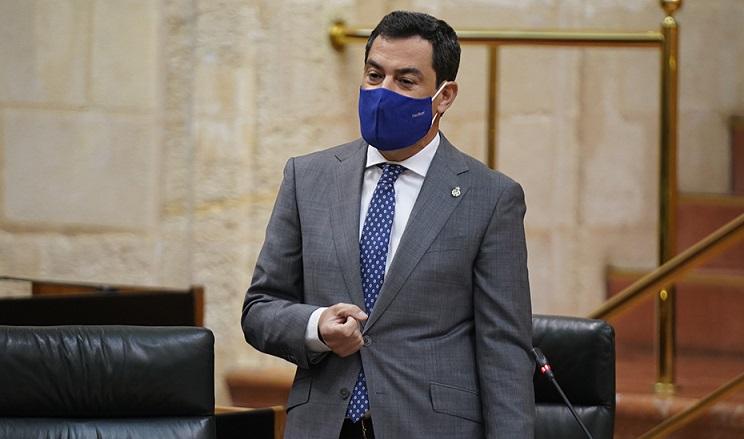 Moreno dice que la bajada de impuestos beneficiará a 4 millones de andaluces y dejará 329 millones en sus bolsillos: es decir 82,25 euros por persona al año