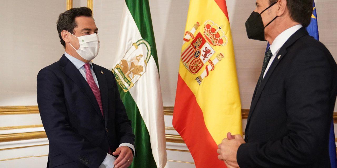 El nuevo Delegado del Gobierno central tiende la mano a la Junta para trabajar contra el covid y la recuperación de Andalucía