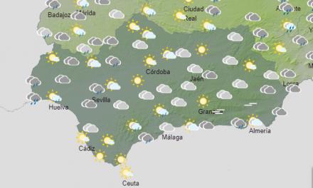 El tiempo en Andalucía: Este sábado tendemos cielos nubosos y alguna tormenta