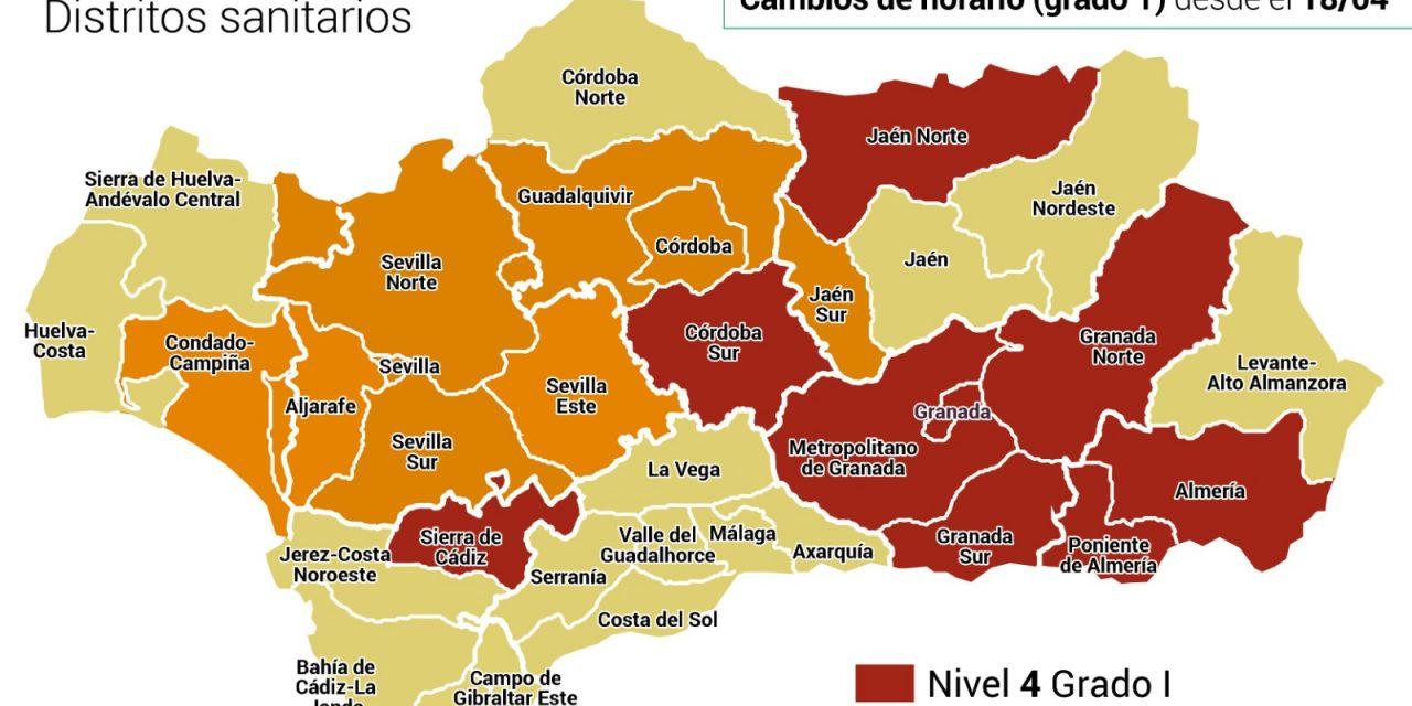 Vuelven los cierres por el coronavirus a los municipios de Andalucía: Estos son los que tienen restricciones y nuevos horarios de cierre
