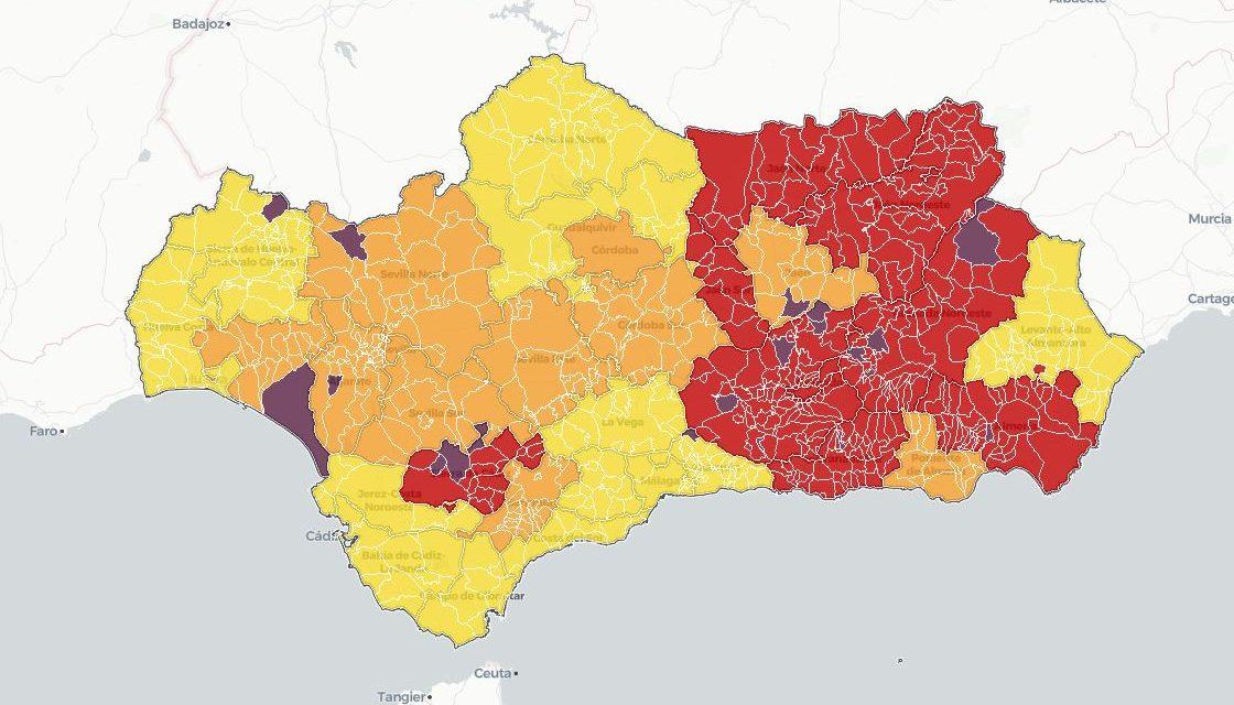 Atención: Esta es la lista de municipios que pasan a tener restricciones a la movilidad en Andalucía