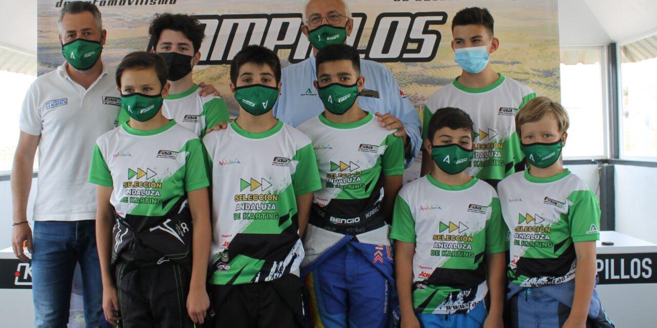 Siete jóvenes promesas del automovilismo en la Selección Andaluza de Karting 2021: te los presentamos
