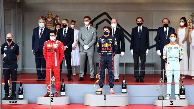 ¡Enhorabuena Sainz! Primer podio con Ferrari, segundo puesto en Mónaco