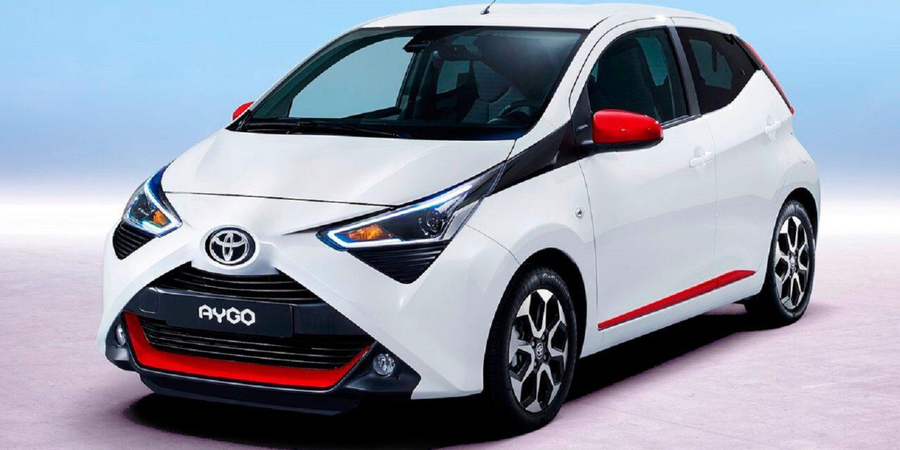 Llamativo acabado del nuevo X-Sport del Toyota Aygo 2021