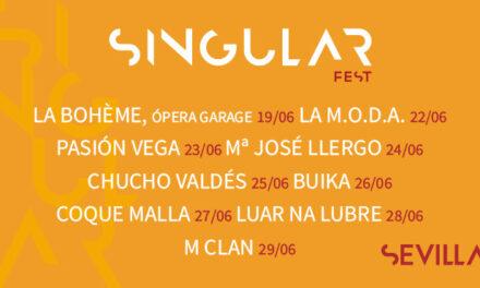 Comienza la tercera edición Singular Fest: Una semana de conciertos en la Plaza de España