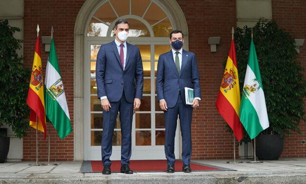 Andalucía recibirá de los presupuestos del Estado en 2022 la inversión más alta de los últimos 10 años: 2.267,1M€