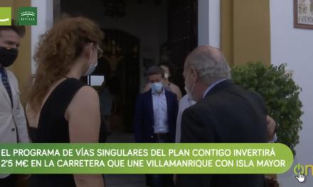 La Diputación invertirá 2,5M€ del Plan Contigo en varios tramos de caminos agrícolas del entorno de la Doñana sevillana