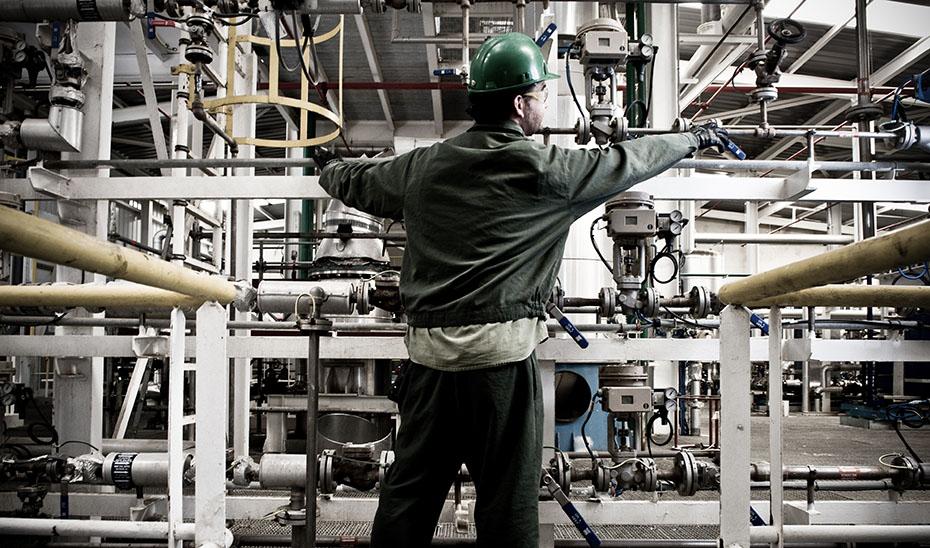 La producción industrial crece en Andalucía casi un 31% interanual en abril, más del triple que en marzo