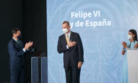 El Rey Felipe VI se declara «un andaluz más entre los andaluces»