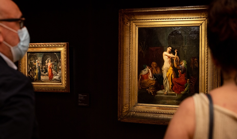 La exposición 'Odaliscas. De Ingres a Picasso' hace que la Alhambra duplique sus visitas