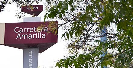 El Ayuntamiento acomete la reurbanización de una zona de acceso al Parque Empresarial Carretera Amarilla