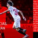 Emocionante despedida de Bryan Gil del Sevilla FC: «Siempre habrá un hueco en mi corazón que lo ocupe este escudo»
