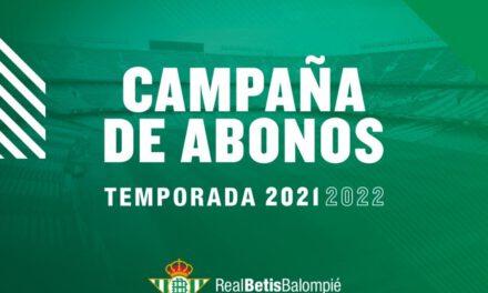 Te contamos todo sobre la campaña de abonos del Real Betis para la próxima temporada