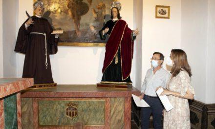 Noticias de Córdoba: La Diputación de Córdoba recupera cinco tallas barrocas de la iglesia del Palacio de la Merced