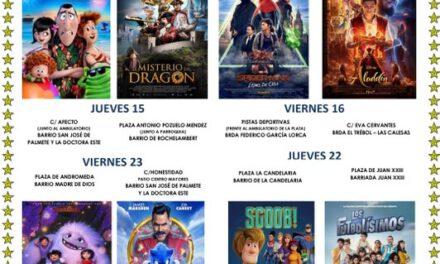 Cines de verano en Sevilla: Te dejamos la programación en los distritos Este-Alcosa-Torreblanca, Cerro-Amate y Sur