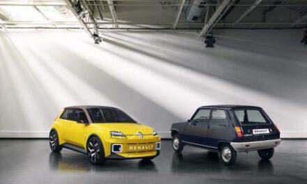 El R5 Prototype se verá cara a cara con su «abuelo» setentero en el Salón de Munich