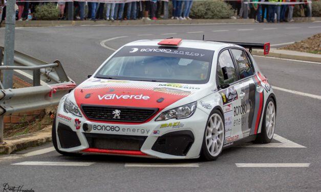Alberto Valverde se hace con la victoria en el Rally crono Villa de Espiel