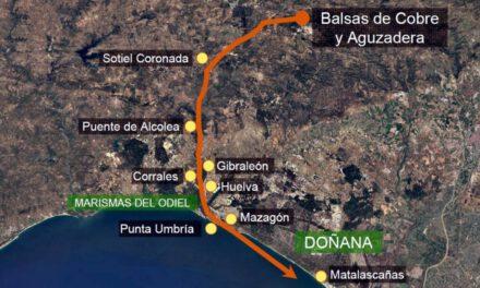"""Los ecologistas: """"La Junta está jugando a la ruleta rusa con las balsas de lodos tóxicos de Atalaya Riotinto Minera"""""""
